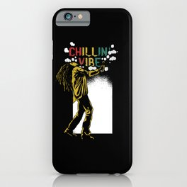 Chilling Vibe iPhone Case