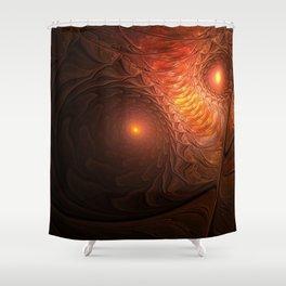Fire Owl [Owl Gang] Shower Curtain