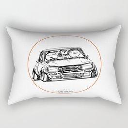 Crazy Car Art 0041 Rectangular Pillow