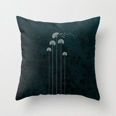 blow Throw Pillow