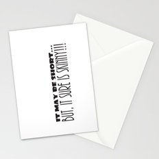 It May Be SHORT...But, It Sure Is SKINNY!!! Stationery Cards
