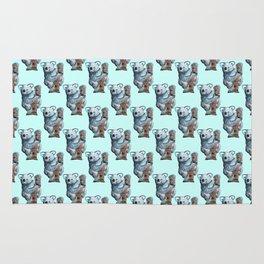 awesome koala pattern Rug