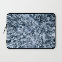 Winter Pine Forest Laptop Sleeve
