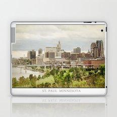 St. Paul Minnesota Laptop & iPad Skin