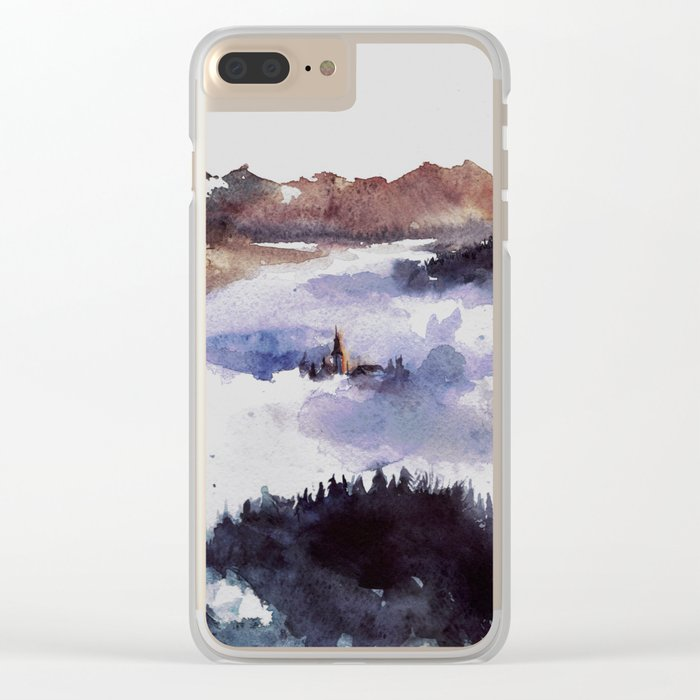 Hidden in the heights Clear iPhone Case