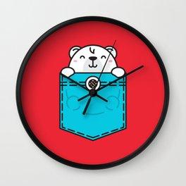 Pocket Polar Wall Clock