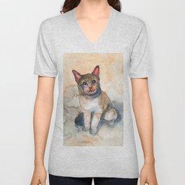 CAT #7 Unisex V-Neck