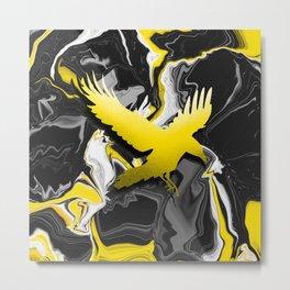 Yellow   -// Metal Print