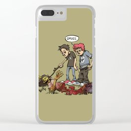 Gross Kids Clear iPhone Case