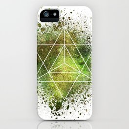 Star Tetrahedron the Merkaba Vehicle of Light iPhone Case