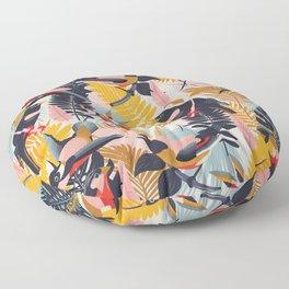 Paradise Birds II. Floor Pillow