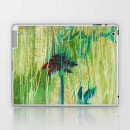 Azul Corriendo con una Memoria Laptop & iPad Skin