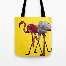 The Flamingo Gang Tote Bag