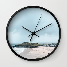 St Ives in cornwall Wall Clock