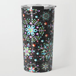 Snowflake Filigree Travel Mug
