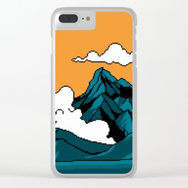 THE MOUNTAIN OF DRAGONS Clear iPhone Case