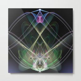 Ajna Activated Metal Print