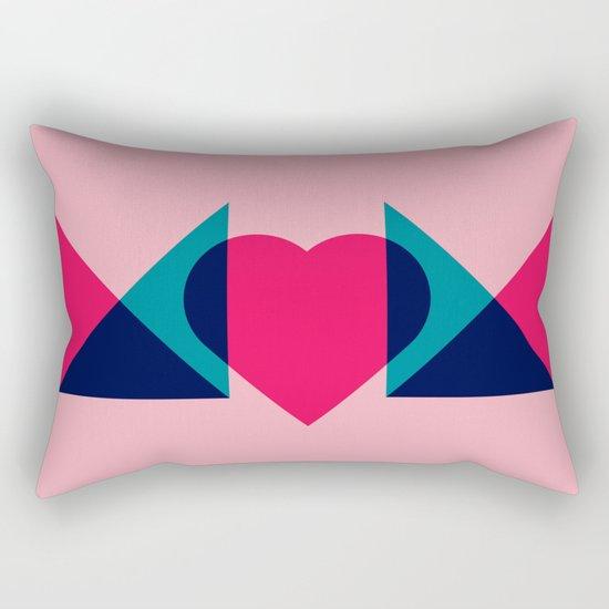 HEART MOM Rectangular Pillow