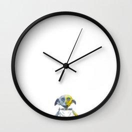 Miniature Dobby Wall Clock