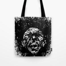 Drip Face Tote Bag