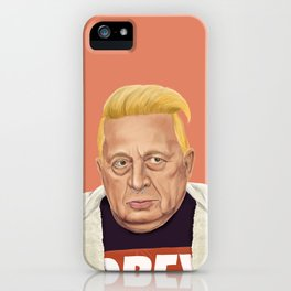The Israeli Hipster leaders - Ariel Sharon iPhone Case