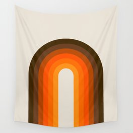 Golden Rainbow Wall Tapestry