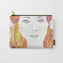 Summer time Lady Carry-All Pouch