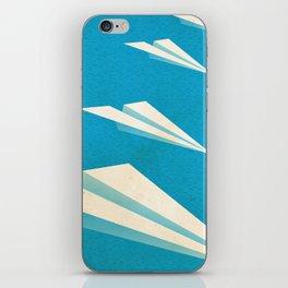 Paper squadron iPhone Skin