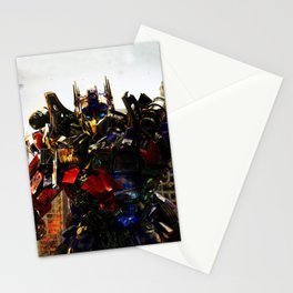 leader robot Stationery Cards