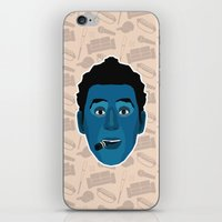 seinfeld iPhone & iPod Skins featuring Cosmo Kramer - Seinfeld by Kuki