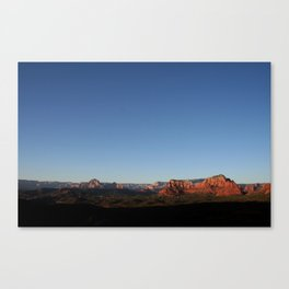 Photography Serenity in Sedona Canvas Print