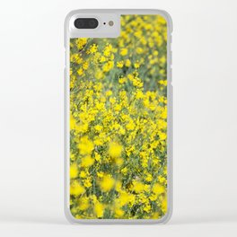 Beautiful shiny yellow Clear iPhone Case