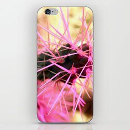 Prickly in Pink iPhone Skin