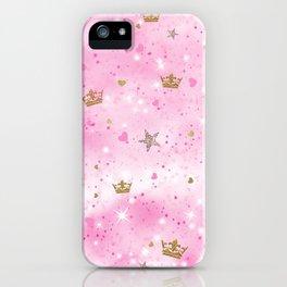Pink Princess iPhone Case