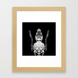 symmetry \\ #1 Framed Art Print
