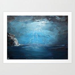Thunderstorm - Acrylic Art Print
