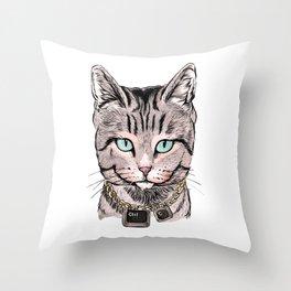 Copy Cat Throw Pillow