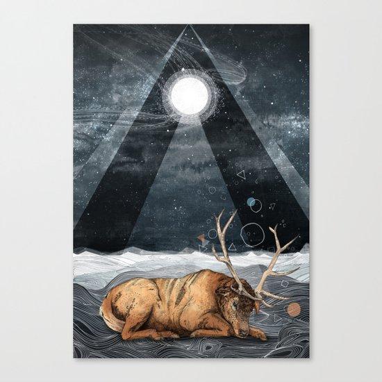 The Unsleeping Dream Canvas Print