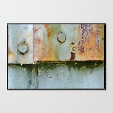 Divots and Paint Canvas Print