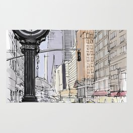 I have visited the city many years ago, I love New York Rug
