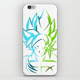 Goku X Broly iPhone Skin