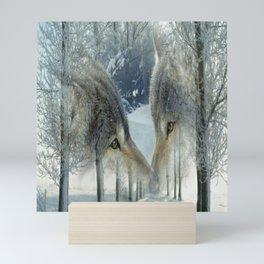 WOLFS Mini Art Print