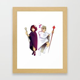 The Arabella sisters Framed Art Print