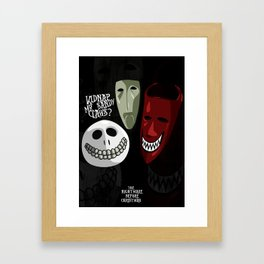 Kidnap Mr Sandy Claws? Framed Art Print