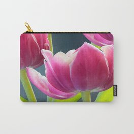 Tulip Bouquet Spring Atmosphere #decor #society6 #buyart Carry-All Pouch