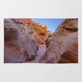 Colorful Canyon, Valley of Fire State Park Rug