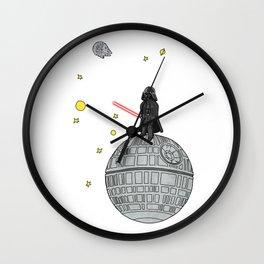 Le Petit Vader Wall Clock