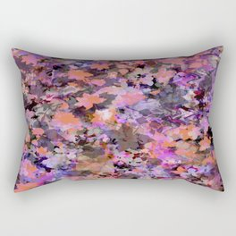 Automne in pink and orange Rectangular Pillow
