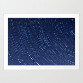 Star Trails Four Art Print