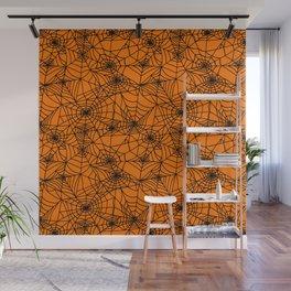 Halloween Cobwebs Wall Mural